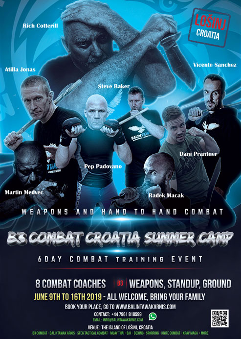Croatia B3 Combat Summer Camp